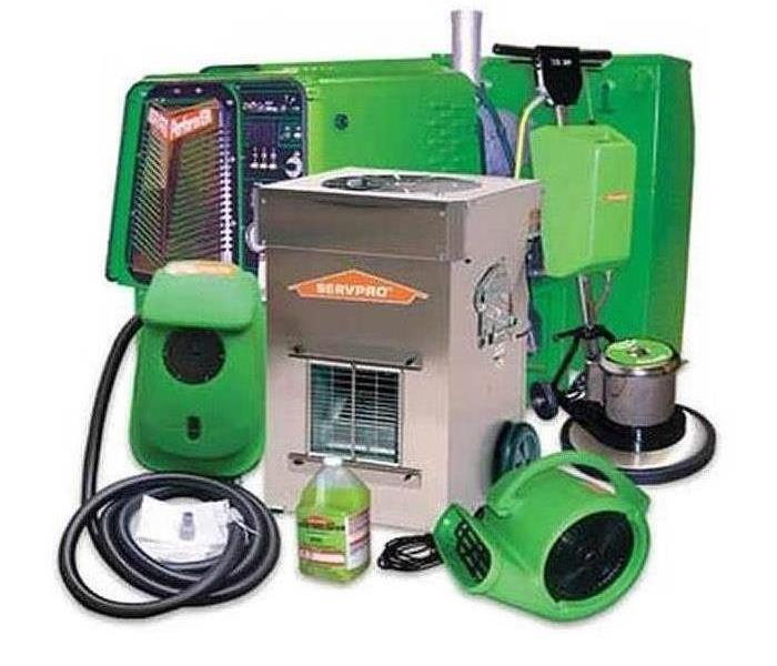 Image of SERVPRO drying equipment
